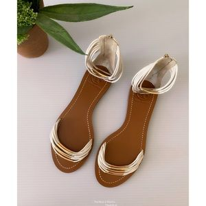 Tory Burch Mignon White Sandal Size 7